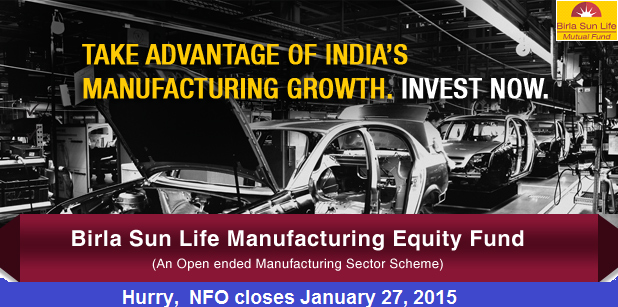 Birla Sun Life Manufacturing Equity Fund - NFO