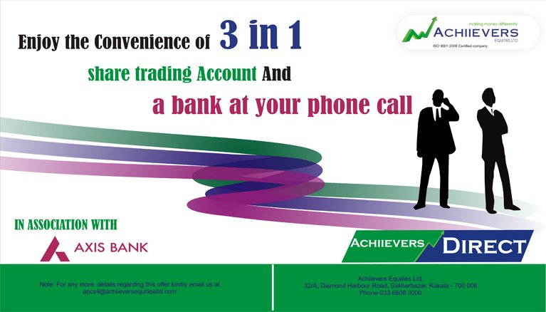 3 in 1 Account - Achiievers Direct