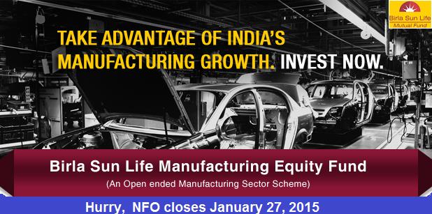 Birla Sun Life Manufacturing Equity Fund - NFO